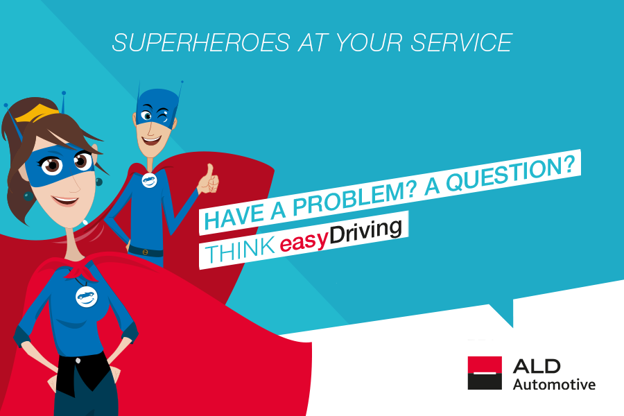 Do you have a problem? A question? Contact your Customer Care easyDriving