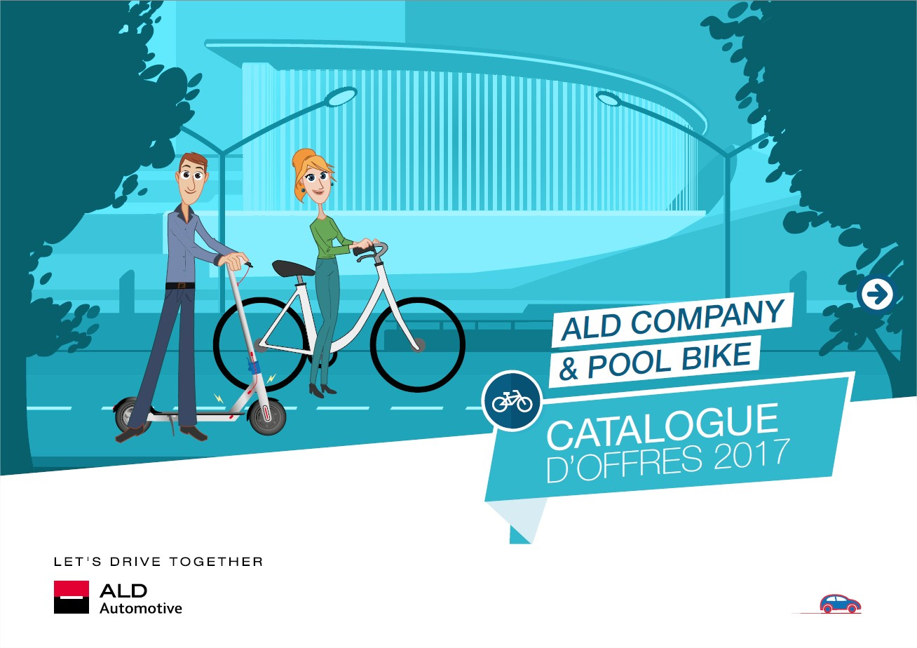 Catalogue Leasing Vélos et Trottinettes ALD Bike FR