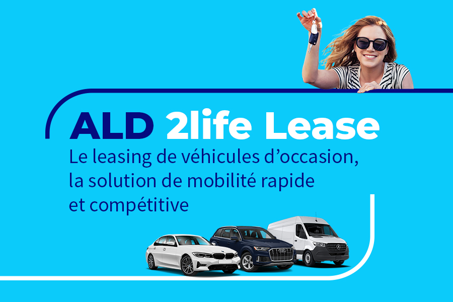 ALD Automotive lance le leasing de véhicules d'occasion, ALD 2life Lease